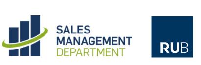 Sales Management Department der Ruhr-Universität Bochum
